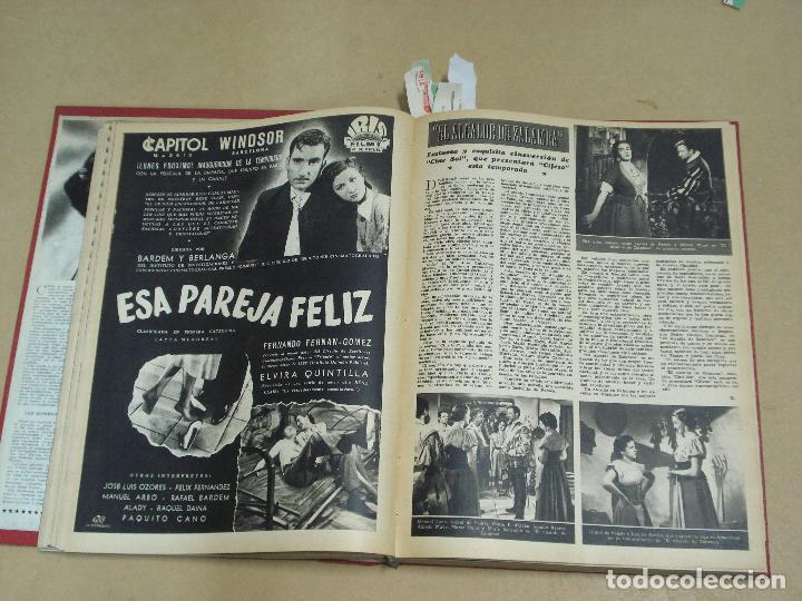Cine: CINE MUNDO REVISTA ESPAÑOLA TOMO ENCUADERNADO JULIO A DICIEMBRE 1953 21 NÚMEROS MONROE TAYLOR FLORES - Foto 5 - 235705380