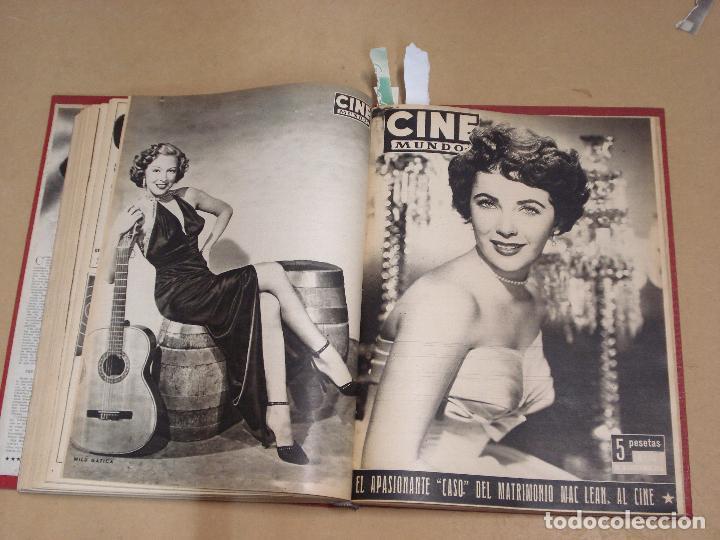 Cine: CINE MUNDO REVISTA ESPAÑOLA TOMO ENCUADERNADO JULIO A DICIEMBRE 1953 21 NÚMEROS MONROE TAYLOR FLORES - Foto 10 - 235705380