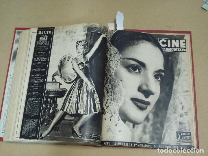 Cine: CINE MUNDO REVISTA ESPAÑOLA TOMO ENCUADERNADO JULIO A DICIEMBRE 1953 21 NÚMEROS MONROE TAYLOR FLORES - Foto 11 - 235705380
