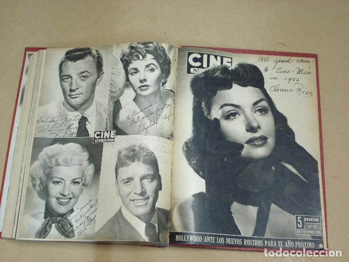 Cine: CINE MUNDO REVISTA ESPAÑOLA TOMO ENCUADERNADO JULIO A DICIEMBRE 1953 21 NÚMEROS MONROE TAYLOR FLORES - Foto 13 - 235705380