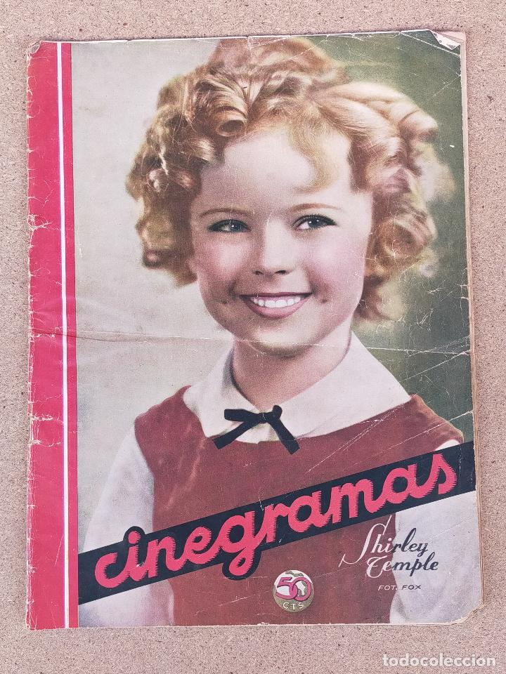 REVISTA CINEGRAMA (Cine - Revistas - Cinegramas)