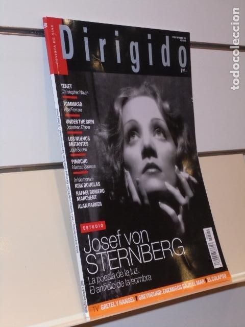 REVISTA DE CINE DIRIGIDO POR... Nº 509 SEPTIEMBRE 2020 ESTUDIO J. VON STERNBERG (Cine - Revistas - Dirigido por)