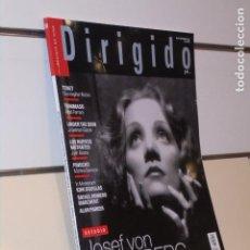 Cine: REVISTA DE CINE DIRIGIDO POR... Nº 509 SEPTIEMBRE 2020 ESTUDIO J. VON STERNBERG. Lote 235890525