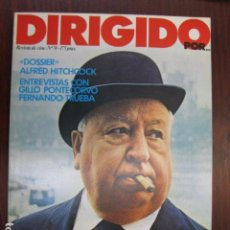 Cine: REVISTA DE CINE DIRIGIDO POR Nº 74 - DOSSIER ALFRED HITCHCOCK ENTREVISTA PONTECORVO FERNANDO TRUEBA. Lote 235997010