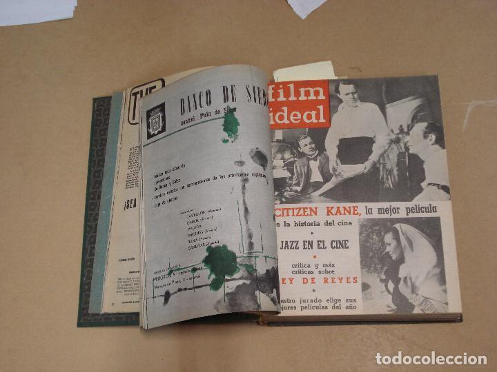 Cine: FILM IDEAL REVISTA ESPAÑOLA TOMO ENCUADERNADO DE ENERO A DICIEMBRE DE 1962 Nº 87-110 - Foto 2 - 236001390