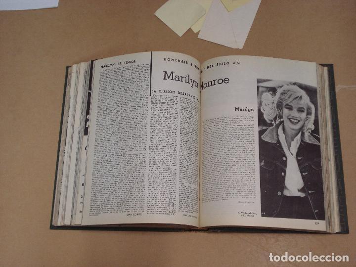 Cine: FILM IDEAL REVISTA ESPAÑOLA TOMO ENCUADERNADO DE ENERO A DICIEMBRE DE 1962 Nº 87-110 - Foto 7 - 236001390