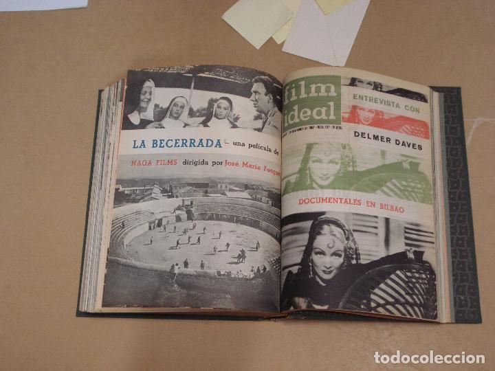 Cine: FILM IDEAL REVISTA ESPAÑOLA TOMO ENCUADERNADO DE ENERO A DICIEMBRE DE 1962 Nº 87-110 - Foto 8 - 236001390