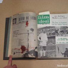 Cine: FILM IDEAL REVISTA ESPAÑOLA TOMO ENCUADERNADO DE ENERO A DICIEMBRE DE 1962 Nº 87-110. Lote 236001390