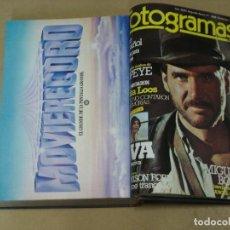 Cinema: FOTOGRAMAS REVISTA ESPAÑOLA TOMO ENCUADERNADO FEBRERO NOVIEMBRE 1981 Nº 1644 AL 1668 25 NUMEROS. Lote 236001950