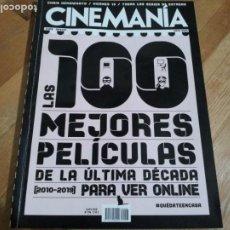 Cinema: REVISTA CINEMANIA Nº 296 ESPECIAL - MAYO 2020. Lote 236015395