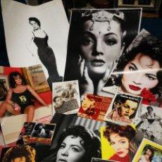 Cinéma: LOTE FOTOGRAFIAS Y RECORTES VARIOS SARA MONTIEL, N°5.. Lote 236025210