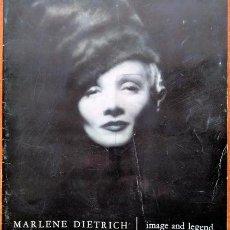 Cinema: MARLENE DIETRICH IMAGE AND LEGEND (REVISTA). Lote 236259485