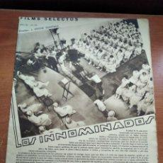 Cine: FILMS SELECTOS - Nº316 - AÑOVIII - REVISTA EDITADA EN LOS AÑOS 30. Lote 236331715