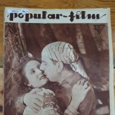 Cine: 39772 - REVISTA POPULAR FILM - Nº 404 - EN PORTADA ANITA CAMPILLO - EN CONTRAPORTADA NANCY CARROLL. Lote 236523520