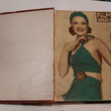 Cine: FILMS SELECTOS TOMO II LOTE DE REVISTAS AÑO 1934 (T1). Lote 236561550