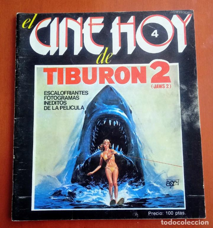 REVISTA DE CINE TIBURON 2. JAWS 2. ORIGINAL 1978.ROY SCHEIDER, LORRAINE GARY, JEANNOT SZWARC (Cine - Revistas - Otros)