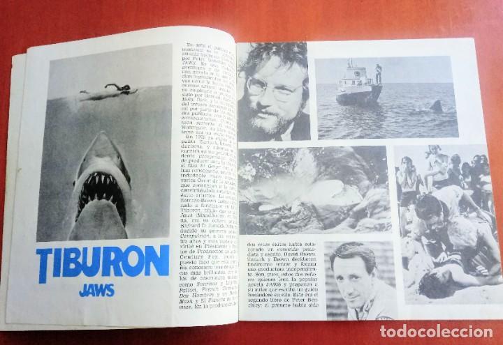 Cine: REVISTA DE CINE TIBURON 2. JAWS 2. ORIGINAL 1978.Roy Scheider, Lorraine Gary, Jeannot Szwarc - Foto 3 - 236640325