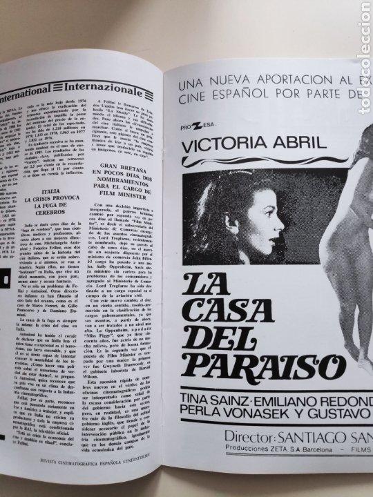 Cine: NT CINEINFORME N° 65 1981 JAMES BOND 007 TERROR SITGES VICTORIA ABRIL FESTIVAL SAN SEBASTIAN 81 - Foto 4 - 236731855
