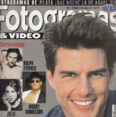 Cine: REVISTA FOTOGRAMAS Nº 1842 AÑO 1997. TOM CRUISE. RALPH FIENNES. JULIA ORMOND. WOODY HARRELSON.. Lote 236815240