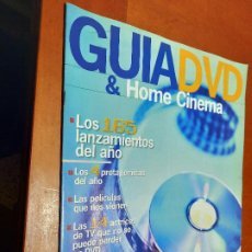 Cine: GUIA DVD & HOME CINEMA. FOTOGRAMAS 1922. GRAPA. BUEN ESTADO. DIFICIL. Lote 237015945