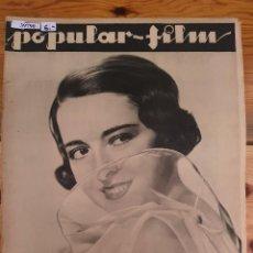 Cine: 39790 - REVISTA POPULAR FILM - Nº 368 - EN PORTADA COLLEN MOORE - CONTRAPORTADA MALA Y SU PROMETIDA. Lote 237031600