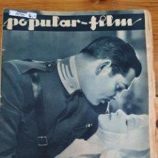 Cine: 39795 - REVISTA POPULAR FILM - Nº 384 - EN PORTADA CLARK GABLE Y HELEN HAYES. Lote 237031870
