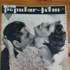 Cine: 39796 - REVISTA POPULAR FILM - Nº 364 - EN PORTADA ELISA LANDI Y WARNER BAXTER. Lote 237031940