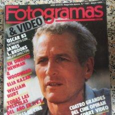 Cine: FOTOGRAMAS MAYO 1984. Lote 237080375