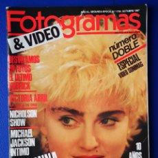 Cine: FOTOGRAMAS - OCTUBRE 1987. Lote 237168210