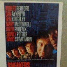 Cine: SNEAKERS (LOS FISGONES). Lote 237170860