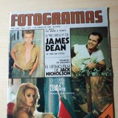 Cine: REVISTA FOTOGRAMAS Nº 1420 FEDRA LORENTE JACK NICHOLSON JEANNE MOREAU. Lote 237178810