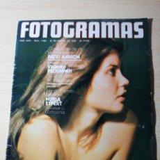 Cine: NUEVO FOTOGRAMAS Nº 1422 ENERO 1976 - VERONICA MIRIEL (PORTADA) SAM PECKINPAH PATXI ANDION. Lote 237179180