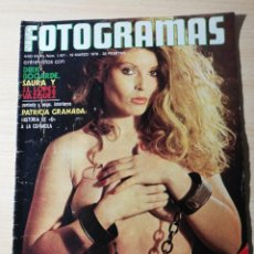 Cine: FOTOGRAMAS Nº 1431 MARZO 1976 - JOSE LUIS LOPEZ VAZQUEZ - SAURA - DIRK BOGARDE - PATRICIA GRANADA. Lote 237179445