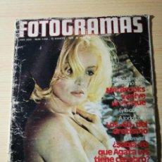 Cine: NUEVO FOTOGRAMAS Nº 1452,MEL BROOKS,FRITZ LANG A MUERTO,AGATA LYS DESNUDA,HISTORIA DEL EROTISMO AÑOS. Lote 237180030