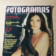Cine: FOTOGRAMAS 1461-1976-CANTUDO-JOSE LUIS BORAU-LIV ULLMAN-VICTORIA VERA-NADIUSKA-PAU RIBA-SISA. Lote 237180250