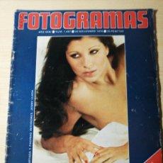 Cine: FOTOGRAMAS 1467-1976-JENNY LLADA-GERALDINE CHAPLIN-HELMUT BERGER-PACO IBAÑEZ. Lote 237180685