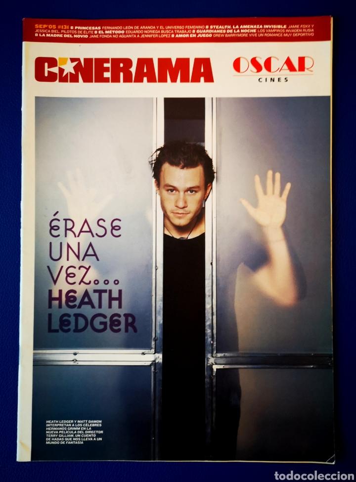 CINERAMA - HEATH LEDGER - SEPTIEMBRE 2005 (Cine - Revistas - Cinerama)