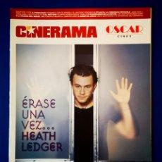 Cine: CINERAMA - HEATH LEDGER - SEPTIEMBRE 2005. Lote 237553820