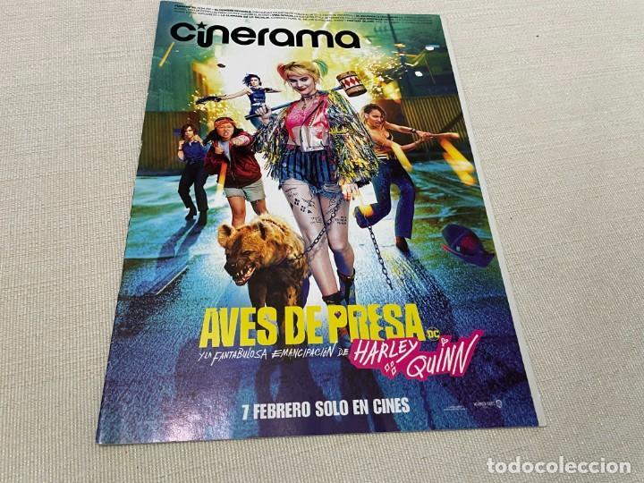 REVISTA CINERAMA FEBRERO 2020 AVES DE PRESA NICOLE KIDMAN FANTASY ISLAND CHARLIZE THERON (Cine - Revistas - Cinerama)