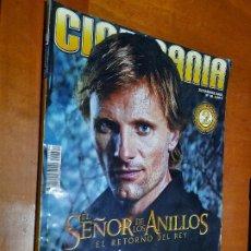 Cinema: CINEMANIA 99. REVISTA DE CINE. CON LOMO. BUEN ESTADO. Lote 237779165