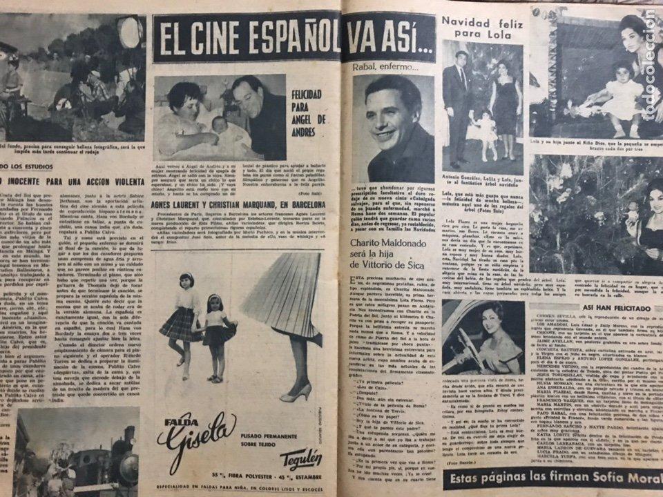 Cine: LOTE 2 REVISTAS RADIOCINEMA 1962 DECANA CINEMATOGRAFICA LEBLANC LOLA PAQUITA SPARTACO LUNA - 527 543 - Foto 2 - 237965330