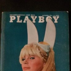 Cinema: PLAYBOY-1966-CINE ERÓTICO-NORMAN THOMAS-PORSCHE-FORD MUSTANG-PLAYMATE LISA BAKER-VARGAS PIN UP. Lote 237979225