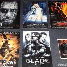 Cine: TRIPITICO BLADE TRINITY TRIPLE XXX ULTRAVIOLETA EL NUMERO 23 JEEPERS CREEPERS POSTAL BLADE. Lote 237989480