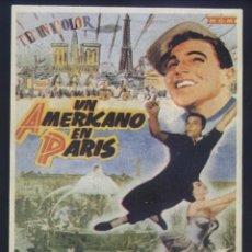 Cinema: P-9254- UN AMERICANO EN PARIS (AN AMERICAN IN PARIS) (RECORTE PRENSA 10X14) GENE KELLY. Lote 238084840