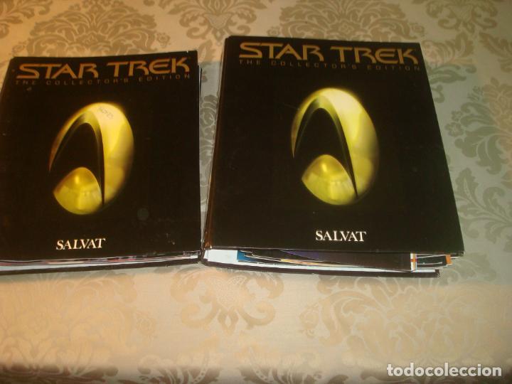 STAR TREK NUEVA GENERACION DE SALVAT FICHEROS + FICHAS (Cine - Revistas - Star Ficcion)