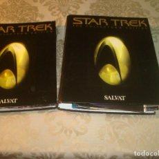 Cine: STAR TREK NUEVA GENERACION DE SALVAT FICHEROS + FICHAS. Lote 238503585