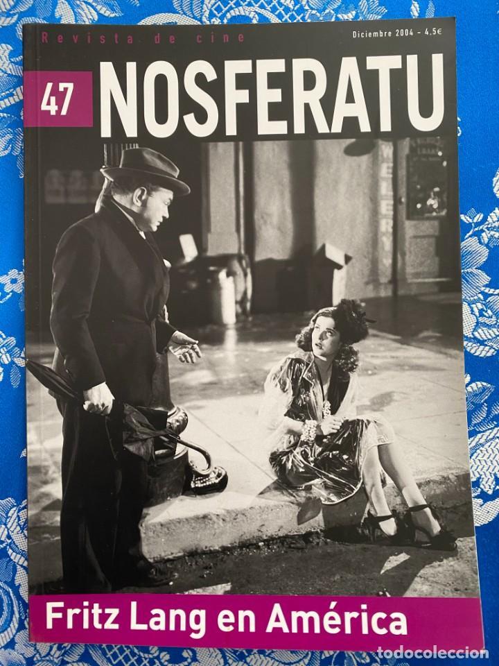 NOSFERATU REVISTA DE CINE Nº 47 FRITZ LANG EN AMERICA (Cine - Revistas - Otros)