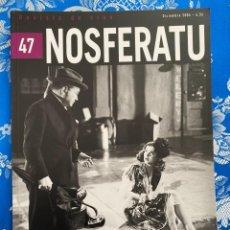 Cinema: NOSFERATU REVISTA DE CINE Nº 47 FRITZ LANG EN AMERICA. Lote 238595505