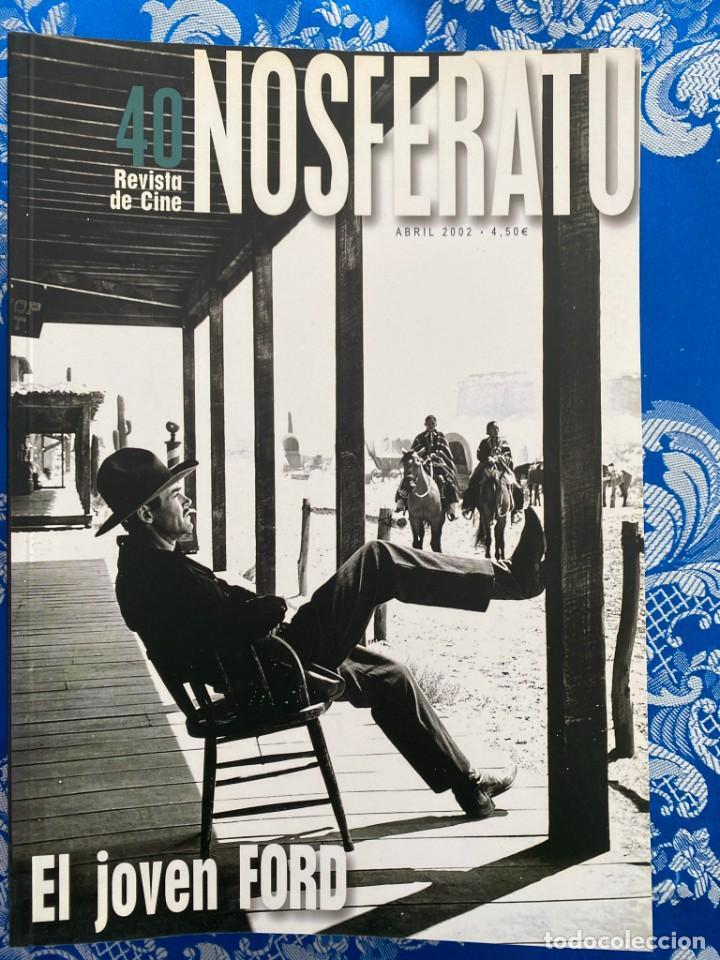 NOSFERATU REVISTA DE CINE Nº 40 EL JOVEN FORD (Cine - Revistas - Otros)