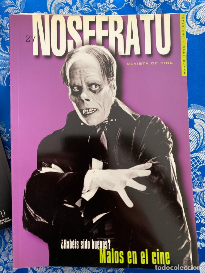 NOSFERATU REVISTA DE CINE Nº 27 MALOS EN EL CINE (Cine - Revistas - Otros)